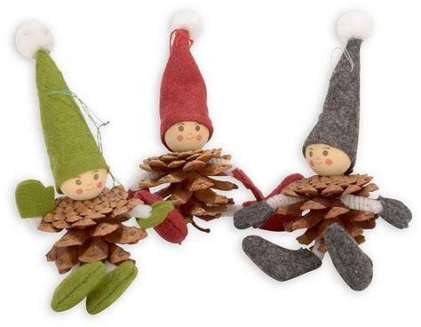 filz basteln mit kindern filz zapfen wichtel g 252 nstig bestellen kinder basteln im winter zapfen basteln