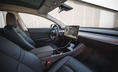 View Tesla 3 Interior Tempolate Pics