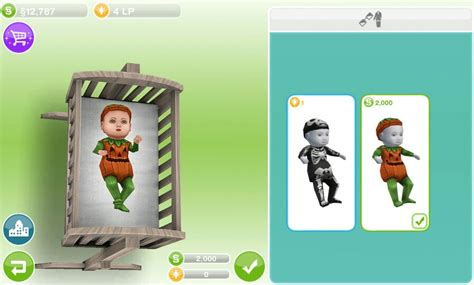 sims freeplay baby costume kid s room baby costumes and sims