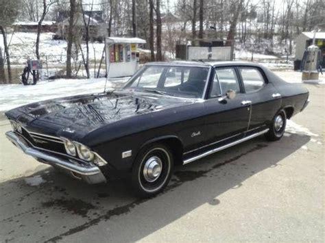 1968 Chevrolet Chevelle Malibu 4 Door Sedan