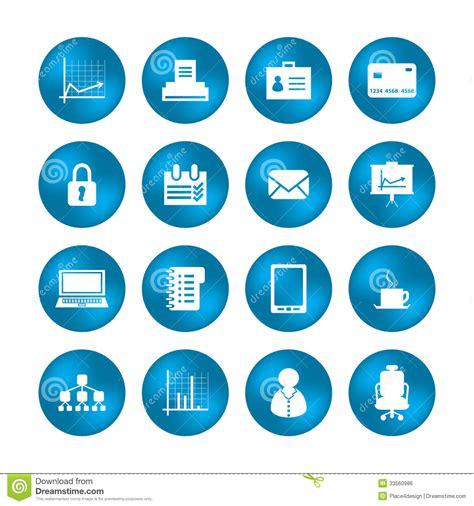 icone de bureau diverses icônes de bureau image libre de droits image