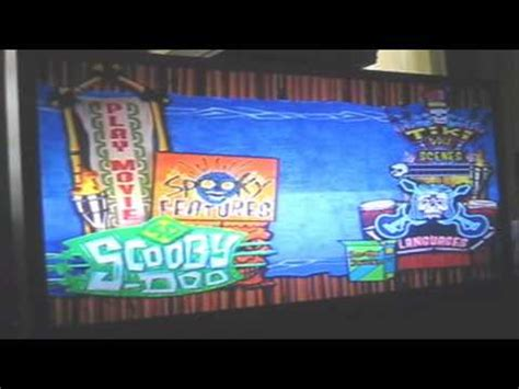 scooby doo menu chapter  youtube