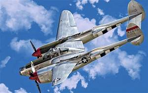 P-38 Lightning Wallpaper And Background Image