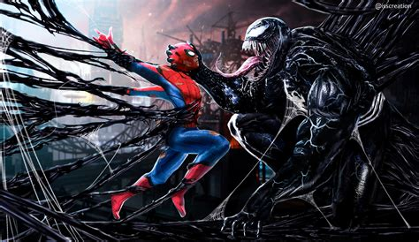 Digital 1080p Venom Iphone Wallpaper artstation vs venom sanketarts