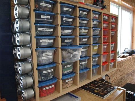 Garage Storage For Nails And Screws by Best Ideas About Screws Storage Storage Shelf And Storage