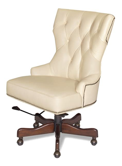 cream colored desk chair hooker furniture executive seating executive swivel tilt