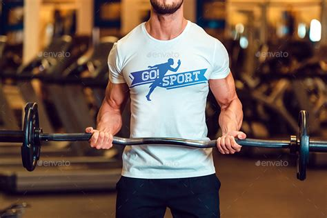 Casual sport clothes mockup set 5383783. Sport T-Shirt Mock-Up by Freeman_Studio | GraphicRiver