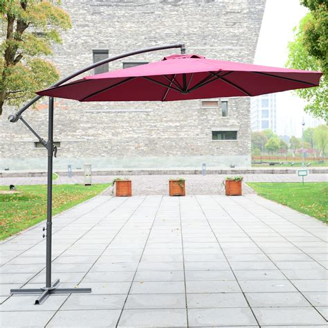 Better Homes And Gardens Offset Patio Umbrella by Outsunny φ10 Deluxe Patio Umbrella Outdoor Market Parasol