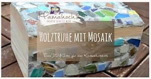 Münzen Selber Gestalten : diy holztruhe mit mosaik bekleben so bastelst du eine kinderschatzkiste mamahoch2 ~ Orissabook.com Haus und Dekorationen