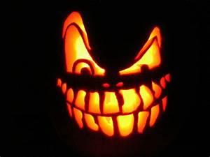 Visage Citrouille Halloween : halloween la route sans fin ~ Nature-et-papiers.com Idées de Décoration