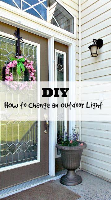 diy how to change an outdoor light fixture sweet parrish