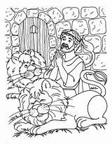 Daniel Den Lions Coloring Getdrawings sketch template