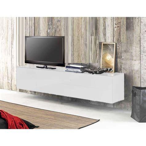 meuble suspendu chambre meuble tv moderne suspendu solutions pour la décoration