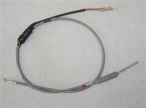 Honda Z50 K1 K2 Reproduction Gray Front Brake Cable With
