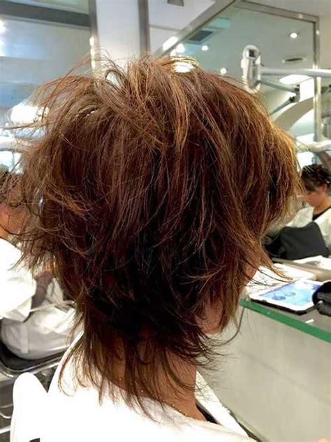 short layered haircuts  women   short