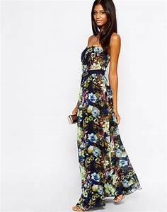 Robe Blanche Longue Boheme : robes longues fleuries robe longue simple ete bersun ~ Preciouscoupons.com Idées de Décoration