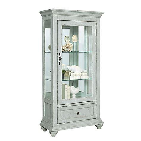 distressed curio cabinet pulaski curio cabinet in distressed white bed