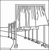 Coloring Gates Selected Region Christo Shtml Artists Paint sketch template