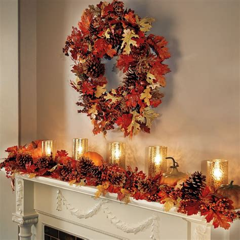 fall garland ideas 57 best fall decor images on pinterest autumn harvest fall harvest and fall