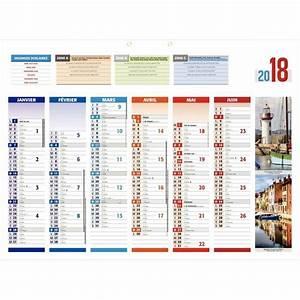 Calendrier Par Mois : calendrier 6 mois par face 4 saisons 40x55 cm bouchut ~ Dallasstarsshop.com Idées de Décoration