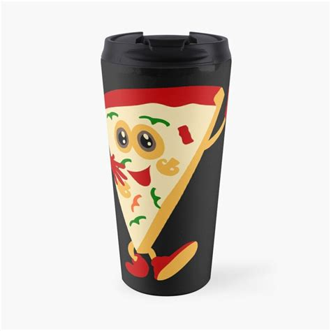 'Funny Pizza Lover Tees' Travel Mug by Bettylop in 2020 ...