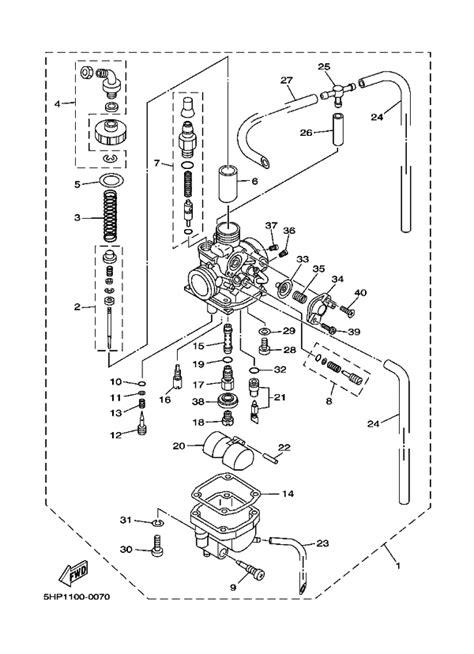 for honda xr100r carburetor diagram