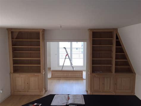 meuble chambre mansard馥 top meuble sur mesure sous toit mansard with meuble pour mansarde