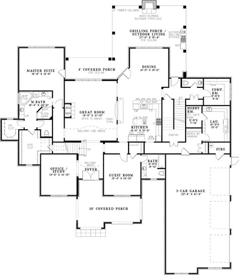 house plans and more eliza place luxury home plan 055d 1021 house plans and more