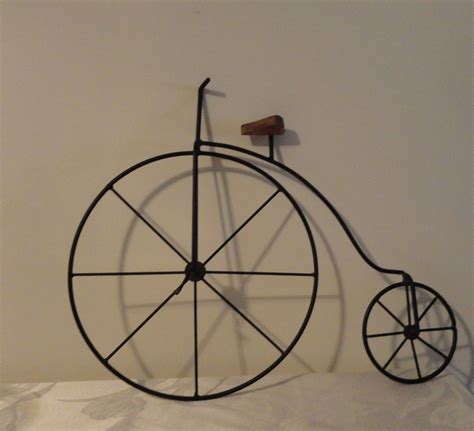 A wide variety of bike wall decor options are available to you, such as material, commercial buyer, and and whether bike wall decor is kitchen, bedroom, or countertop. Vintage, High Wheel Bicycle Wall Hanging, Metal Wall Art, Rustic Decor, Bicycle Home Decor by ...