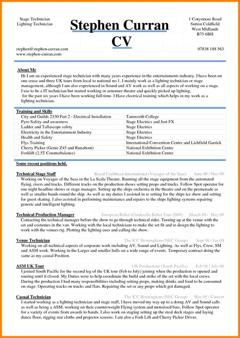 curriculum vitae   ms word theorynpractice