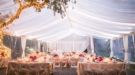 outdoor winter wedding winter tent allan house