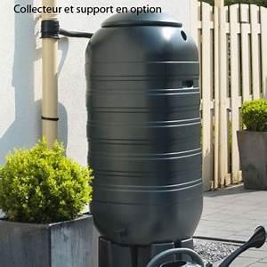Récupérateur D Eau De Pluie Enterré : r cup rateur d 39 eau de pluie nature mural 100 ou 250 litres ~ Premium-room.com Idées de Décoration