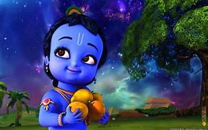 Little Krishna HD Wallpaper Full Size Free Download ...