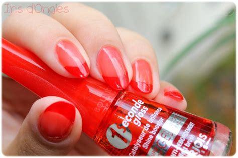 Vernis à ongles séchage rapide Rouge orange 011 12ML . Wapa