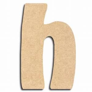 Lettre En Bois A Peindre : lettre en bois peindre h minuscule lettre bois ~ Dailycaller-alerts.com Idées de Décoration