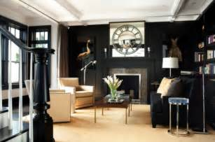 using black as the color for your interior d 233 cor