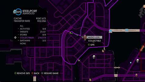 ccc saints row iv guidewalkthrough audio logs