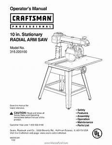 Craftsman  10402