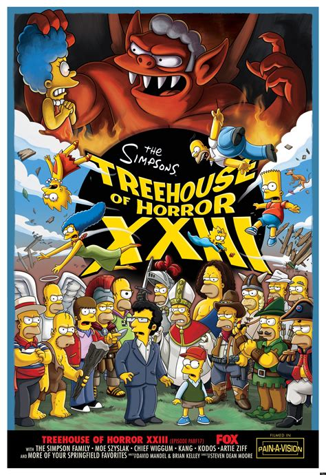 'the Simpsons' 'treehouse Of Horror Xxiii' Preview (photos