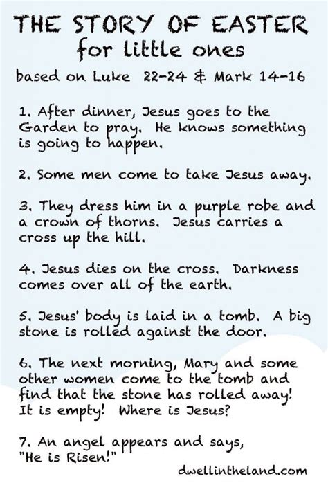 the story of easter for ones easter in 2019 283 | 6b718368a5a613afc1bd66d6f1a5b834