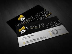 206 professional home builder business card designs for a for Home builder business cards