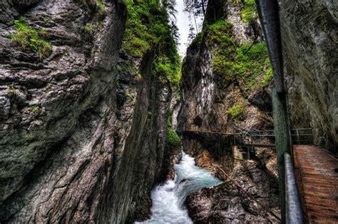 Leutasch Gorge In Bavaria Germanyleutasch Gorge In