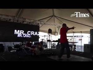 El Paso rapper Mr Crazy performs