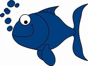 Blue Fish Clip Art at Clker.com - vector clip art online ...