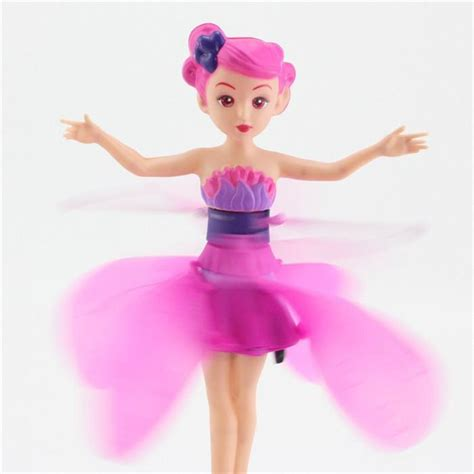 2017 flying doll flying electronic toys flitter