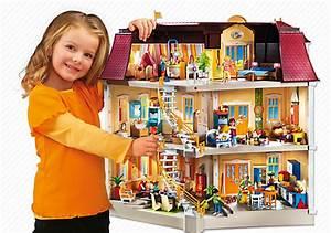 Accessoire Maison Pas Cher : playmobil 5302 maison de ville achat vente univers miniature cdiscount ~ Preciouscoupons.com Idées de Décoration