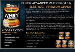 Body Fortress - Whey Protein Powder