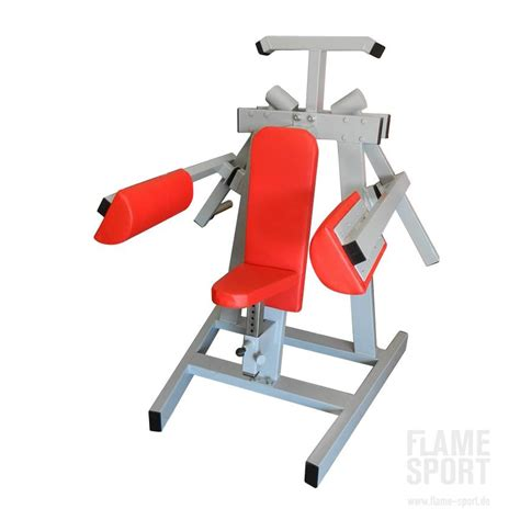 p lateral shoulder raise plate loaded flame sport
