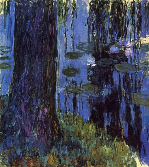Willow Boat Painting by 1652 Best Images About Claude Monet On