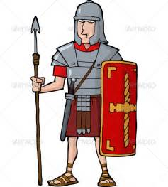 Roman Legionary Cartoon